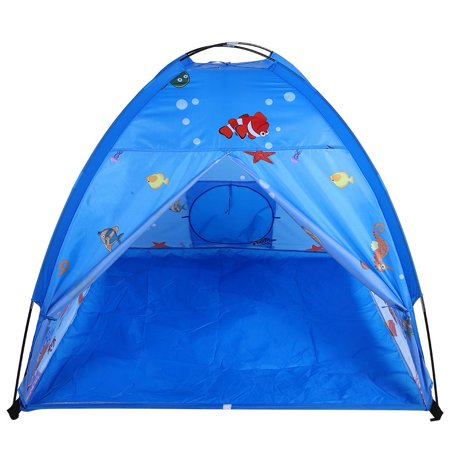 Ejoyous Indoor and Outdoor Toy 3 in 1 Sea World Pattern Kid Entertainment Tent  Portable Child Playhouse, Kid Play Tent,Children's Entertainment Tent - image 3 of 8