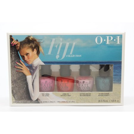 OPI Nail Lacquer-  Fiji Collection- 4 Piece Mini Pack- (4 X .125oz) ()