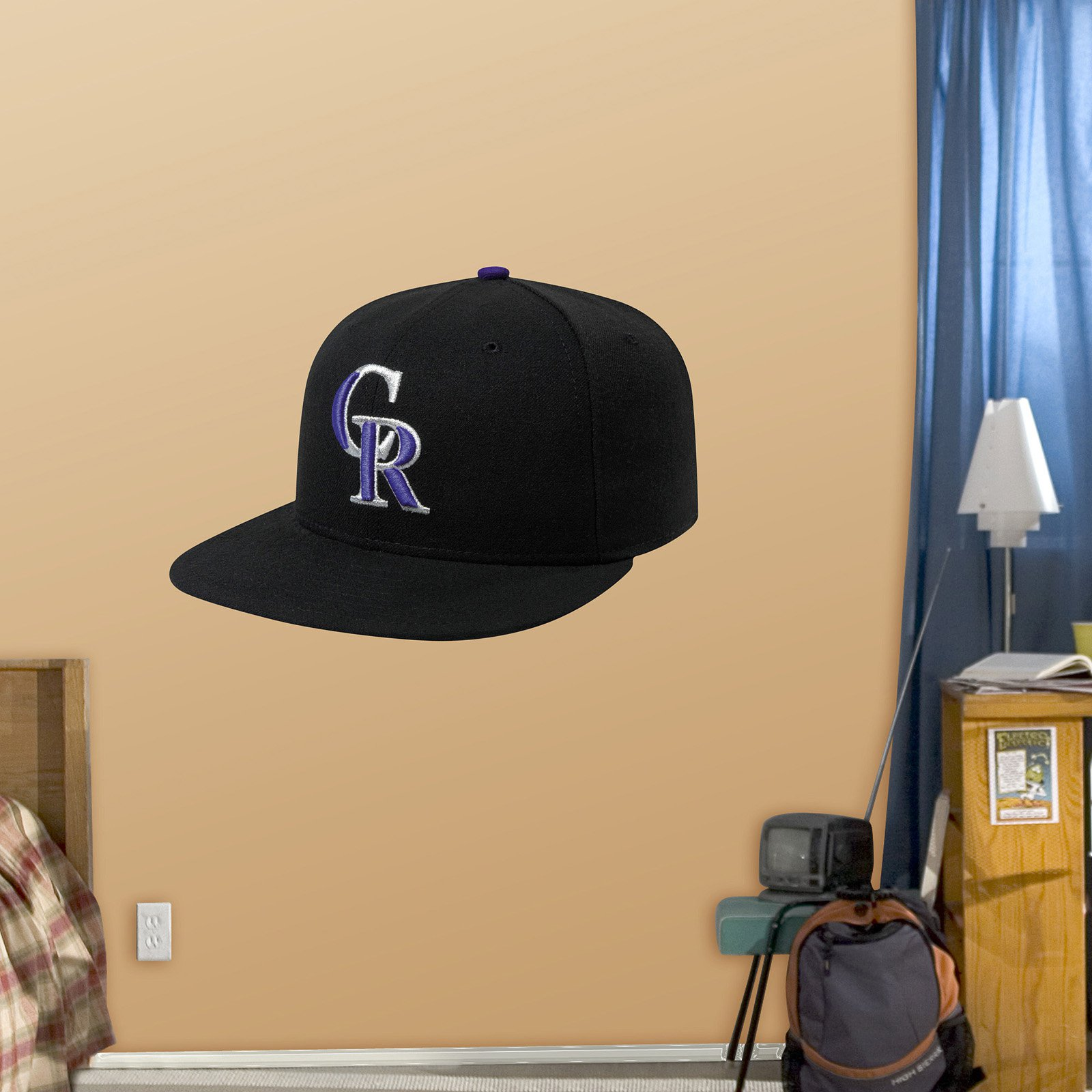 Fathead MLB Team Cap Wall Decal