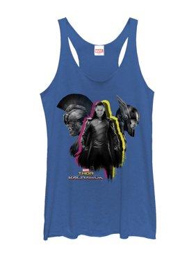 15ab73f74804e Product Image Marvel Women s Thor  Ragnarok Loki Pop Racerback Tank Top