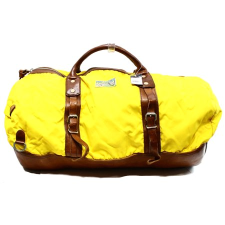 Polo Ralph Lauren NEW Yellow Yosemite Nylon Duffle Gym Travel Bag  398 -  Walmart.com 29c6bbddafabb