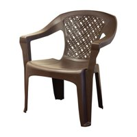 Adams Big Easy Woven Stacking Armchair Chair