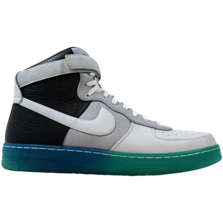 Nike AF1 Downtown Hi BR Wolf Grey/Pure Platinum-Dark Grey-Military Blue 644572-001