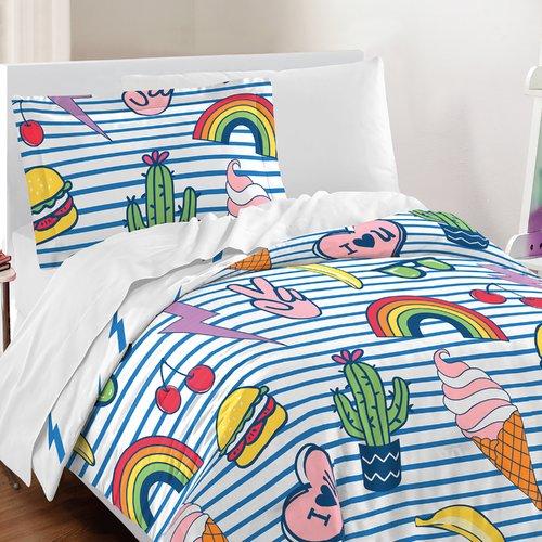 Zoomie Kids Haskins Cotton 3 Piece Comforter Set