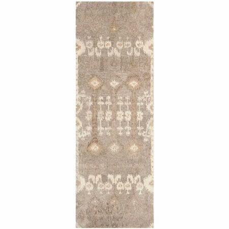 Safavieh Wyndham Ilean Wool Runner Rug, - Natural Wool Sisal Rug