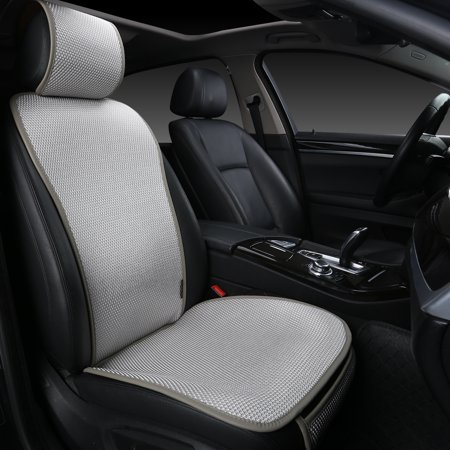 """Edealyn F-005 Series Ultra-Luxury Ice Silk Fabric Vehicle Seat Cover (Bottom Cushion Cover: W21""""x D21"""" and 0.3"""" in Thickness; Back Cushion Cover: 27"""" tall.), Single Piece (Thai Silk Cushions)"""