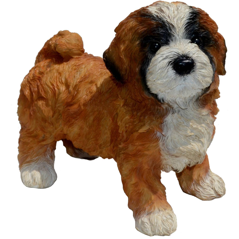 """Michael Carr Designs 8.3"""" Diva Lhasa Apso Puppy"""
