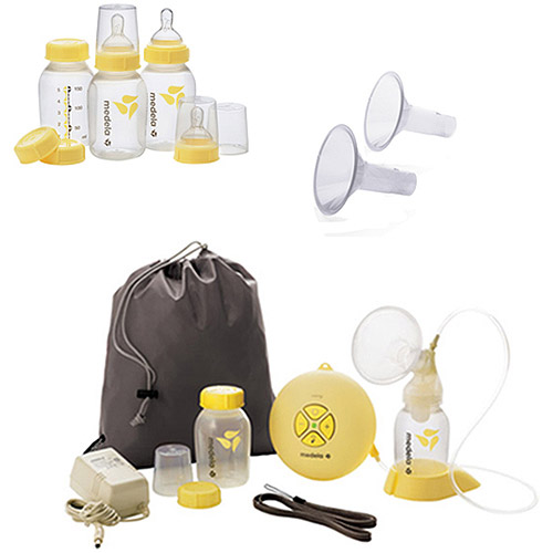 Medela - Swing Breastpump w/Accessories Value Bundle