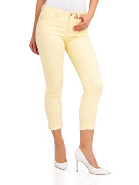 Jordache Women's Mid Rise Skinny Jeans