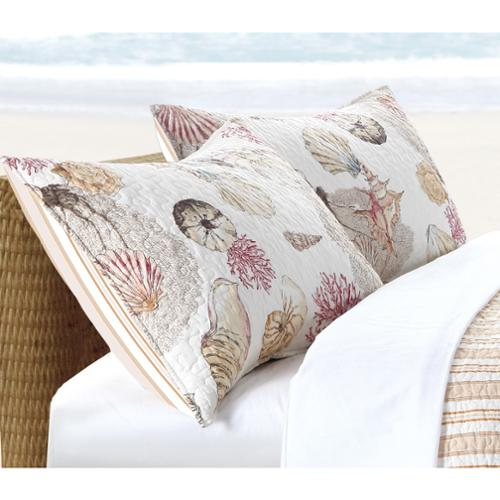 Castaway Pillow Sham Set King Sham Set