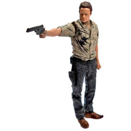 McFarlane Walking Dead Building Sets Series 1 Rick Grimes Mini Figure - Rick Grimes Halloween