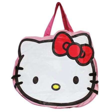 Bags Hello Kitty (Hello Kitty Die-Cut Head Shaped Travel Tote)
