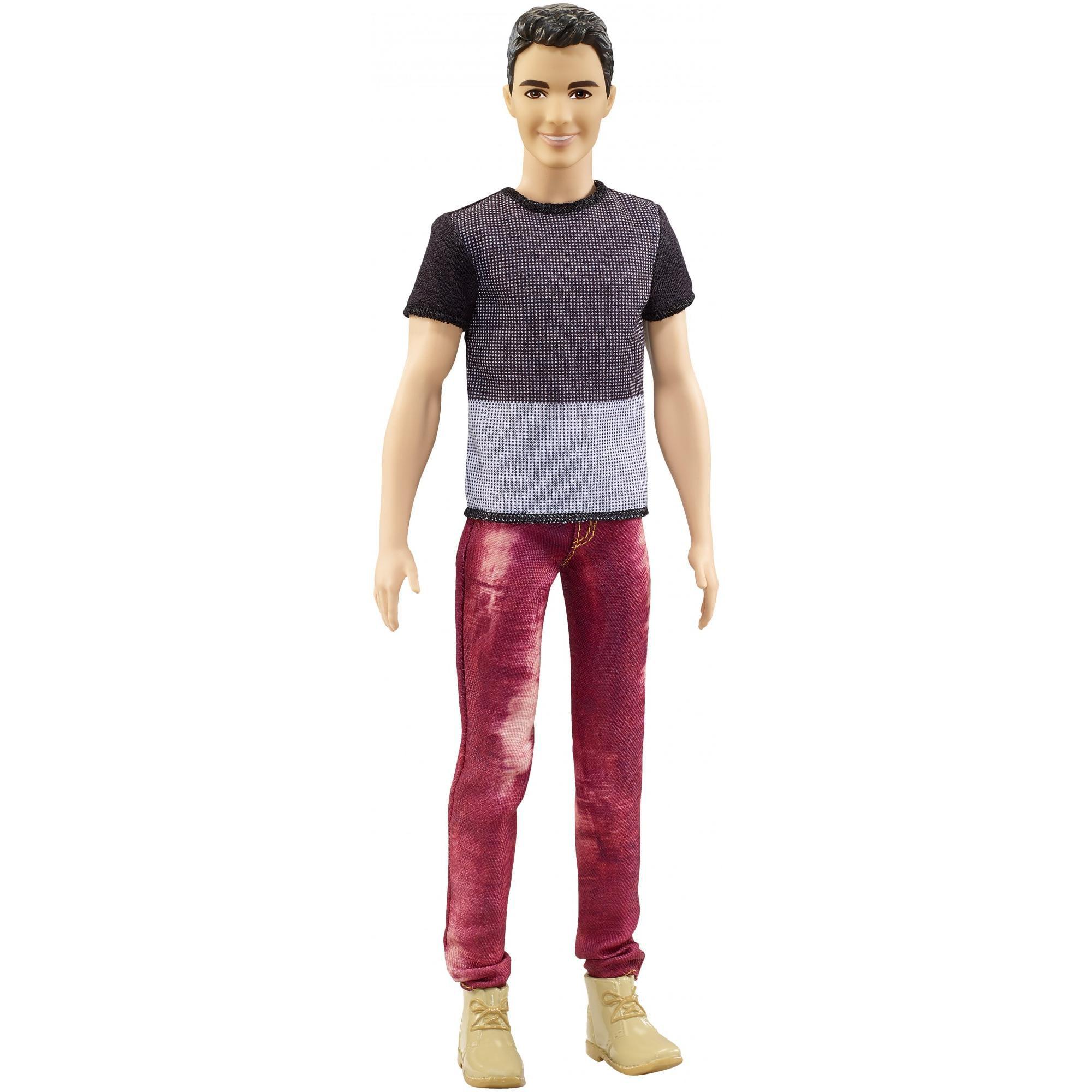 Mattel Inc. Barbie Ken Fashionistas Doll 6 Color Blocked Cool