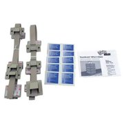 QUAKEHOLD! RD.HP.5G.1 HPLC 5-Stack Fastener Kit,Gray
