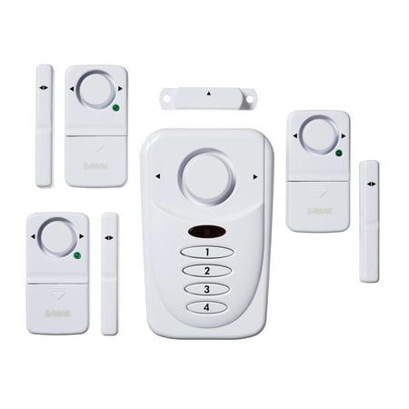 Security Equipment Corp HS-WAK Premium White Wireless Alarm