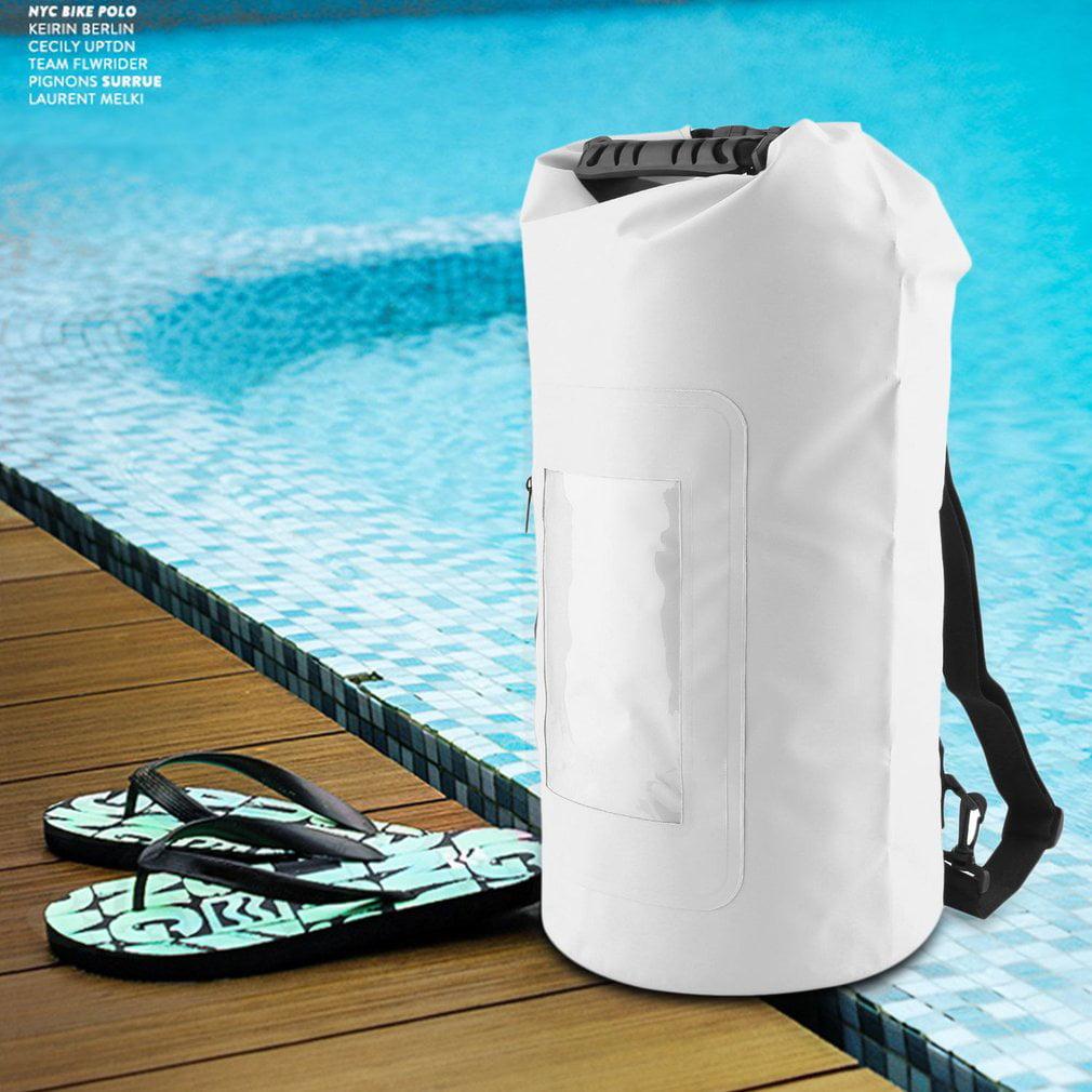Waterproof Roll Top Duffel Bag With Grab Handle Dry Gear Bag Survival Sack Kit by daydayup