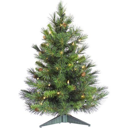 Pinyon Pine Trees (Vickerman 3' Cheyenne Pine Artificial Christmas Tree,)