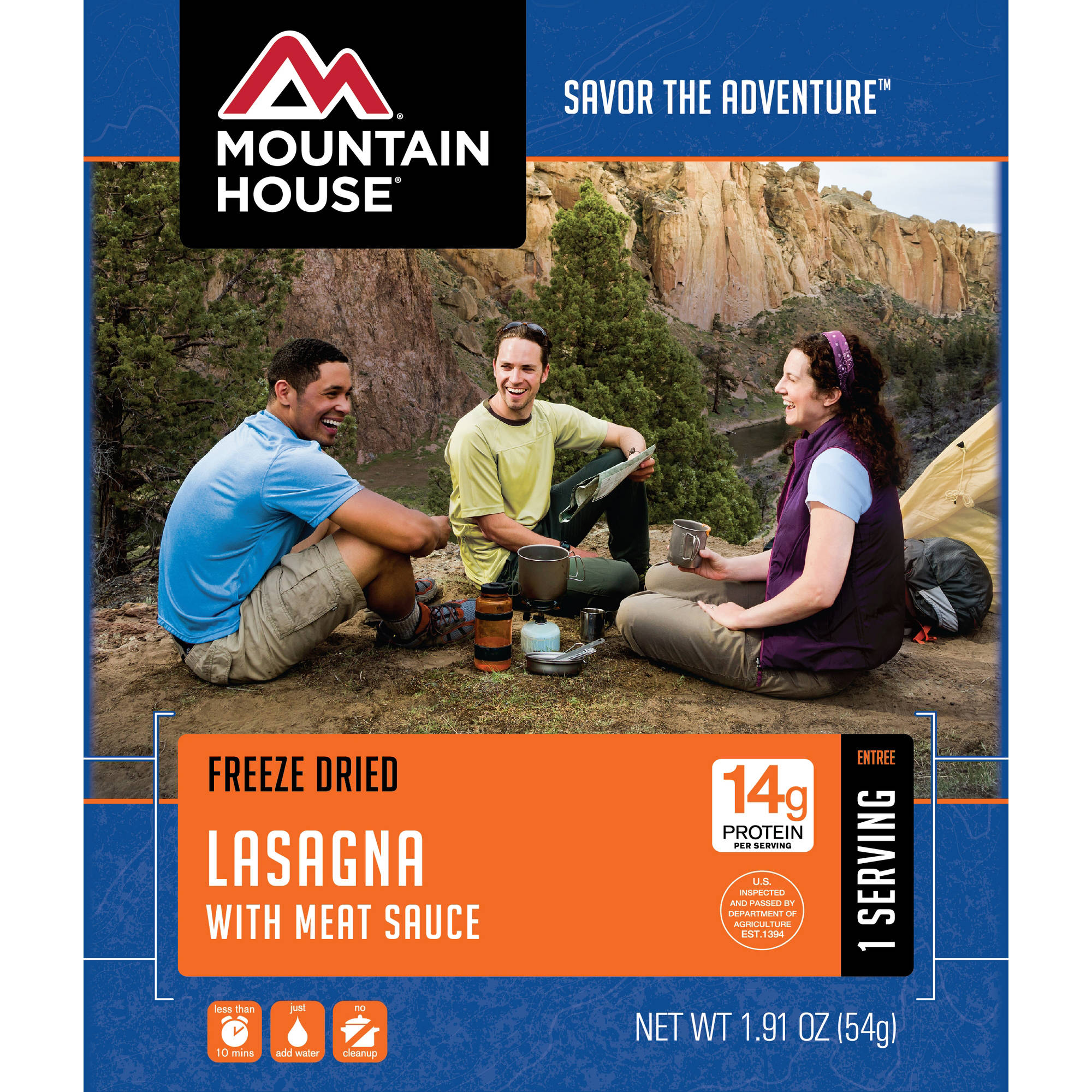 Mountain House Lasagna with Meat Sauce by Oregon Freeze Dry