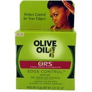 Organic Root Stimulator Olive Oil Edge Control Gel, 2.25 oz (Pack of 2)