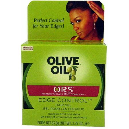 Organic Olive Oil Hair (Organic Root Stimulator Olive Oil Edge Control Gel, 2.25 oz (Pack of 3) )