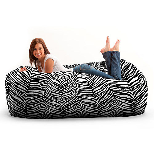 Fuf 6' Media Lounger, Multiple Colors