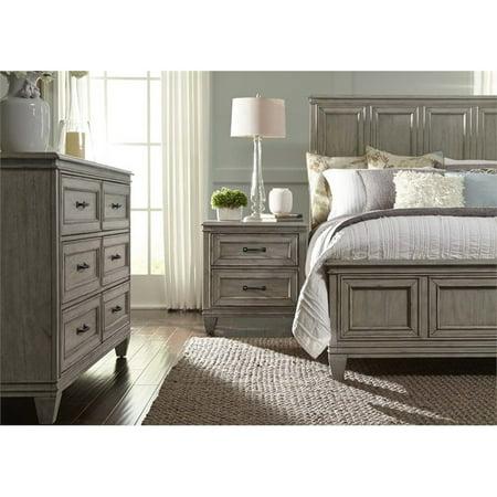 Liberty Furniture Grayton Grove 4 Piece King Panel Bedroom Set ()