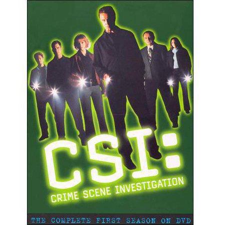 Csi  Crime Scene Investigation   The Complete First Season  Full Frame