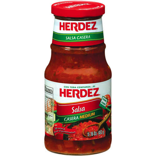 Herdez Casera Medium Salsa, 16 oz