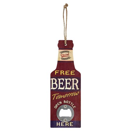 Grindstore Free Beer Tomorrow Bottle Opener - image 1 of 1