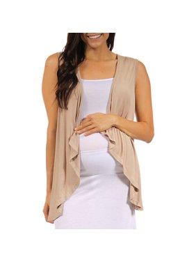 Women's Maternity Sleeveless Shrug