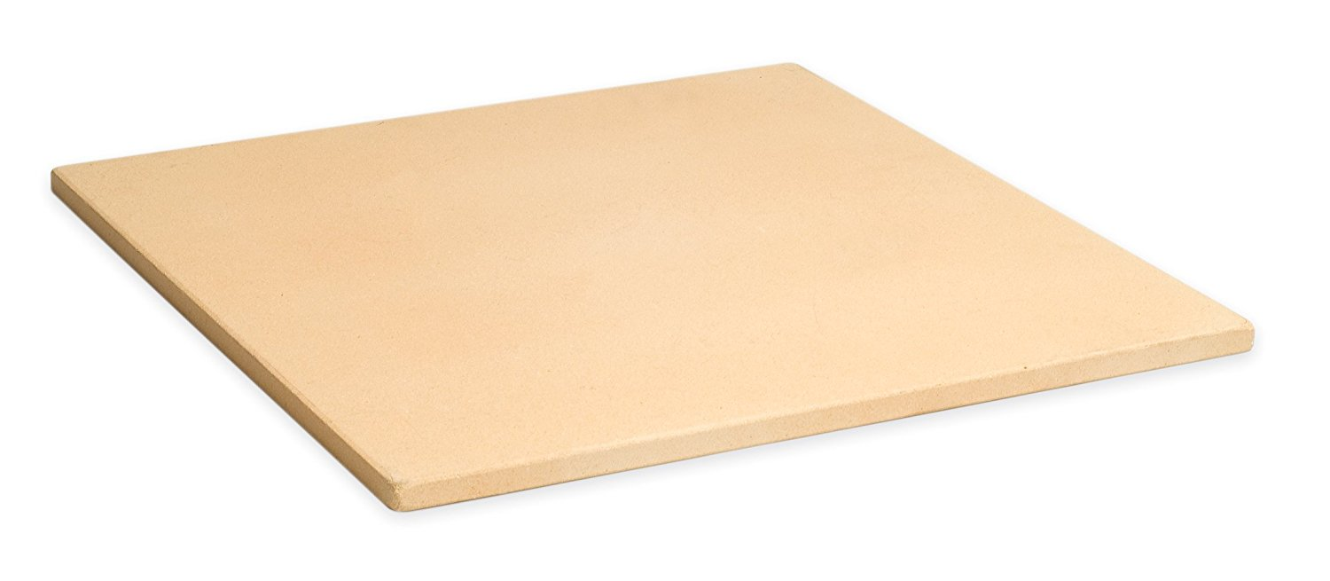"15"" Square Cordierite Baking Pizza Stone For Oven or Grill PC9897, From US,Brand generic by"