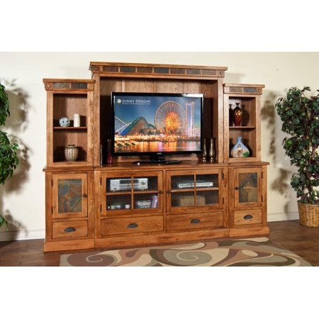 Sedona Entertainment Wall Unit 6Pc Set