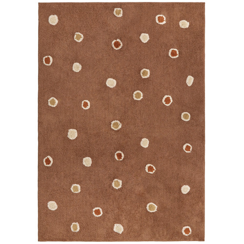 St. Croix Carousel Chocolate Dots Area Rug