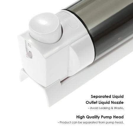 CHUANGDIAN 300ml Wall-mounted Single Bottle Manual Soap Dispenser Shampoo Box Soap Dispenser & Holder Toilet Hand Washing Liquid Shampoo Shower Gel Dispenser - image 4 of 7