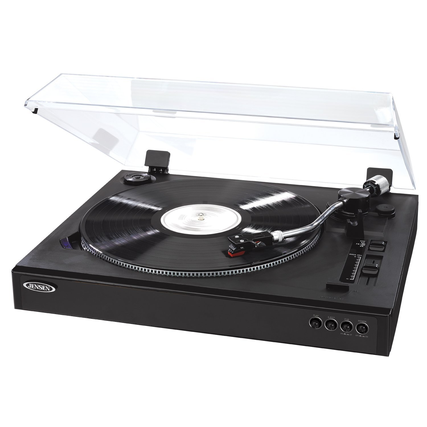 Portable Turntable, Jensen Jta-470 Record Player Modern Portable Stereo Turntable