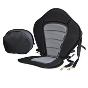 New 11.7 x 14.8inch Portable Adjustable Strap Fishing Kayaking Canoeing Padded Seat with Backrest DEYAD by