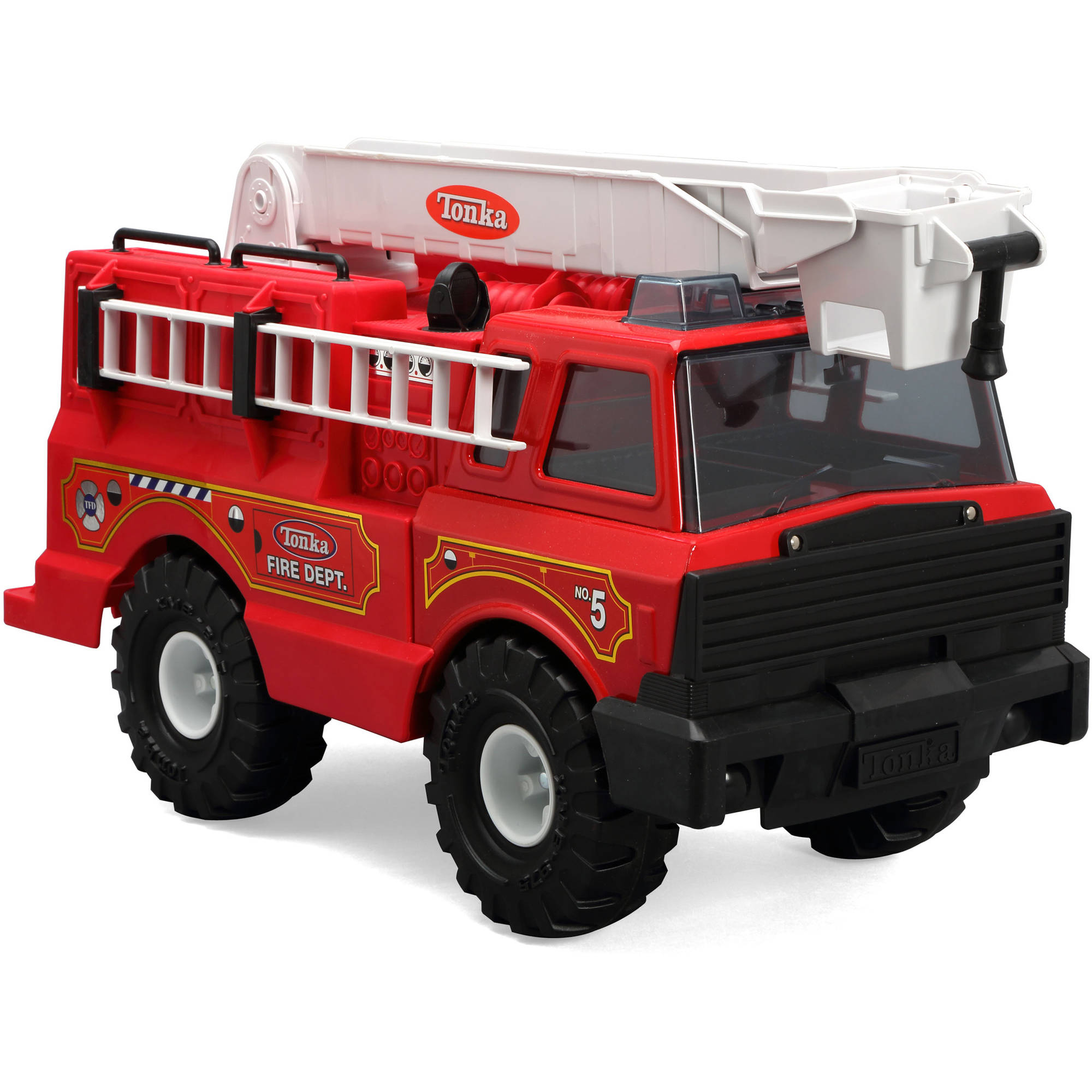 Funrise Toy Tonka Classics Steel Fire Truck