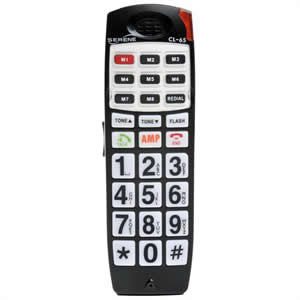 Serene Innovation CL65-HS DECT 6.0 Amplified Big Button Phone with Talking Caller ID Extra Handset for CL65