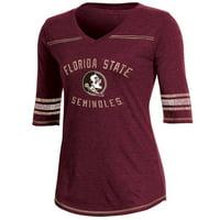 Product Image Women s Russell Garnet Florida State Seminoles Fan  Half-Sleeve V-Neck T-Shirt eea5c2fda1