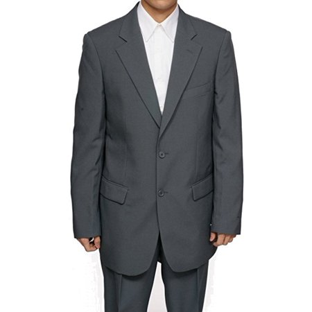 New Era Factory Outlet Inc Mens Gray Grey Dress Suit