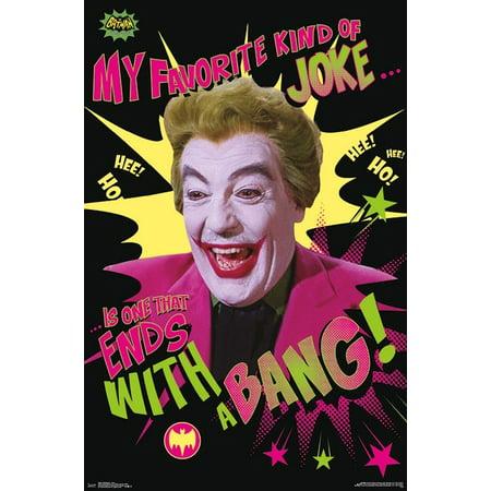 1966 Batman - Joker Poster - 1966 Batman Movie Poster