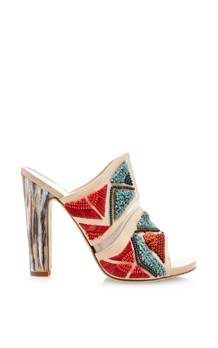 Maiyet Women's Embroidered Jill Mules Economical, stylish, and eye-catching shoes