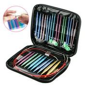 Best Knitting Needle Sets - 13 Sizes/Set Interchangeable Aluminum Circular Knitting Needle Sets Review