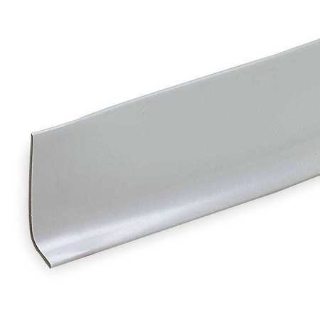 "Battalion 2RRX4 White PVC Vinyl 48""L 1/8""W Tub and Shower Base Molding with Adhesive"