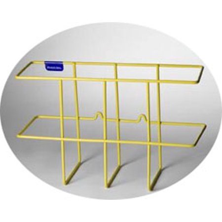 Yellow MSDS/RTK 3-Ring Binder Rack