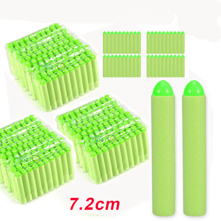 400pcs Dart Refill Pack for Elite Series Blaster Toy | Our Darts Are Compatible With All N-Strike Guns |Foam Toy Refill Bullets