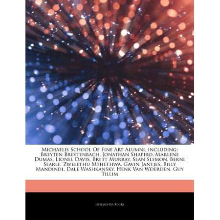 Articles on Michaelis School of Fine Art Alumni, Including: Breyten Breytenbach, Jonathan Shapiro, Marlene... by