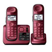Refurbished Panasonic KX-TGL432R 2 Handset Cordless Phone w/ DECT 6.0 & Digital Answering System