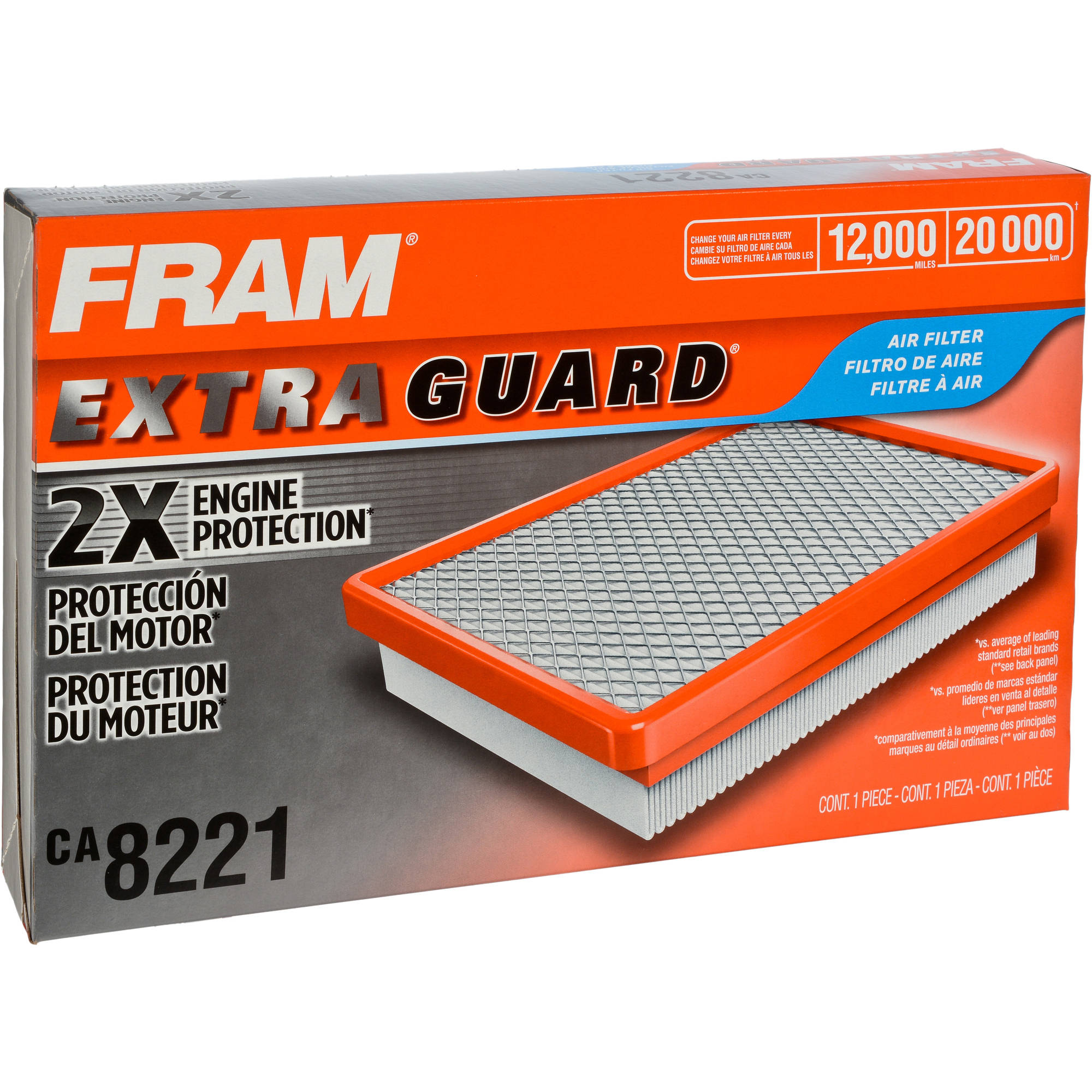 FRAM Extra Guard Air Filter, CA8221