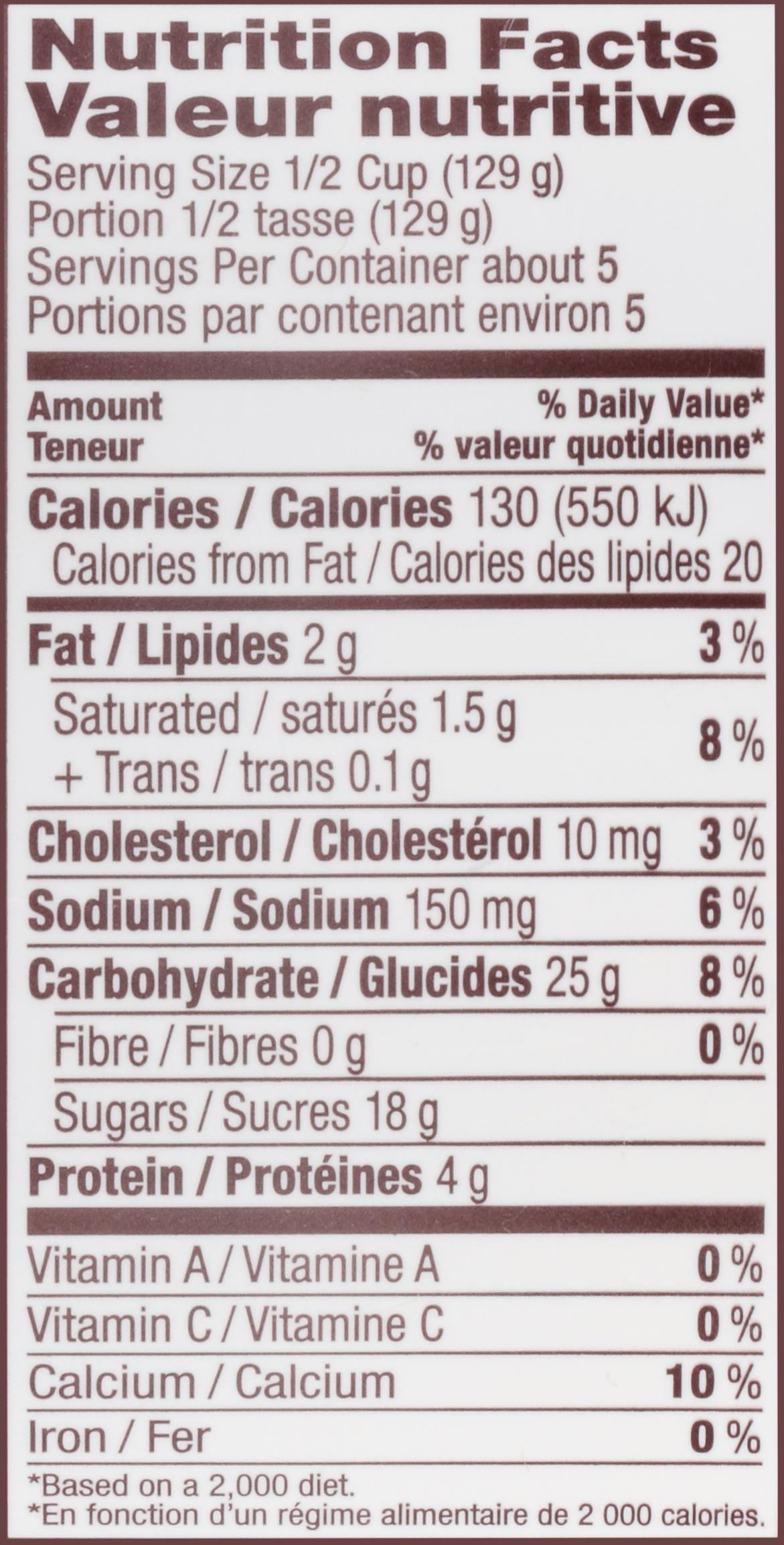TAPIOCA STARCH NUTRITIONAL VALUE